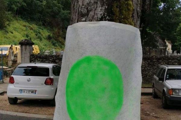 Des ronds verts découverts sur toutes sortes de supports