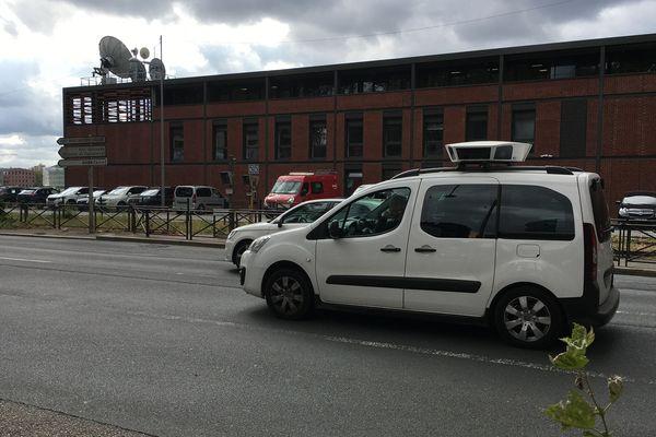 """Rouen : une voiture LAPI (Lecture Automatique des Plaques d'Immatriculation) surnommée """"sulfateuse à PV"""""""