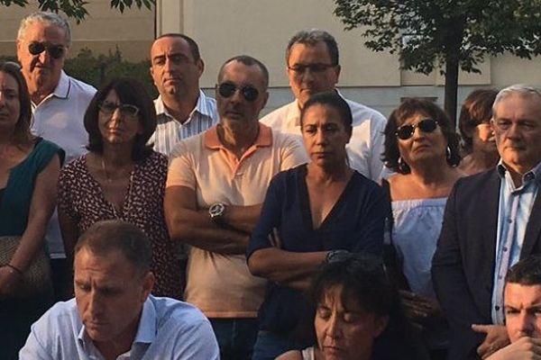 La présentation de la liste PRG-MCD à la départementale de Bastia 3. Anthony Alessandrini, son père Alex, de nouveau aux côtés de François Tatti.