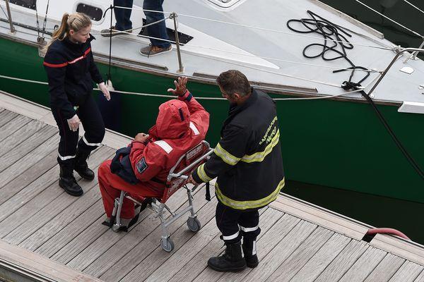 Les secours ont ensuite pris le relais.