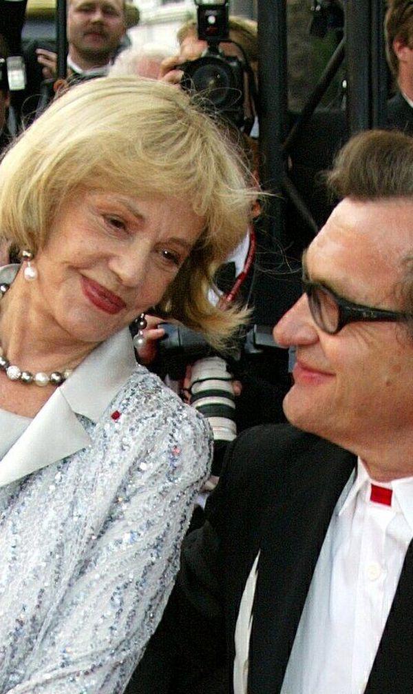 Jeanne Moreau au Festival de Cannes 2003