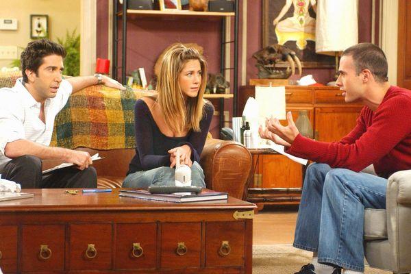 La série Friends comporte 236 épisodes. Ici, un extrait du 200e.