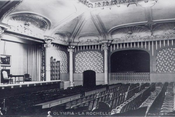 Le 8 février 1913, l'Olympia Cinéma est inauguré avec 450 places.