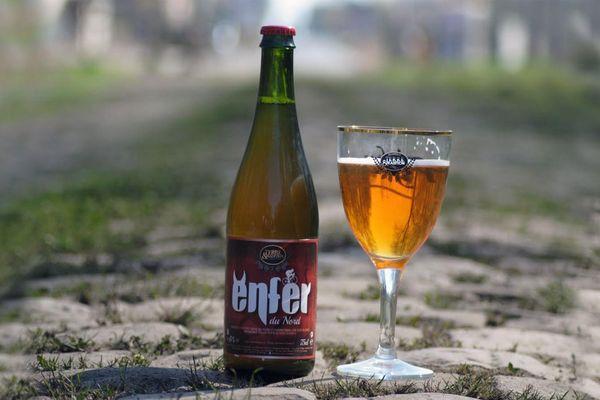 Enfer du Nord, un nom évident pour la bière du Paris-Roubaix