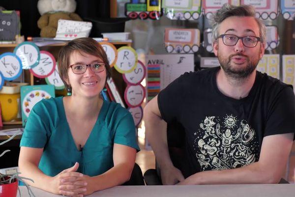 """Marie-Solène et son mari Ronan Letoqueux, ont imagine le concept de l'""""émission part en live"""""""