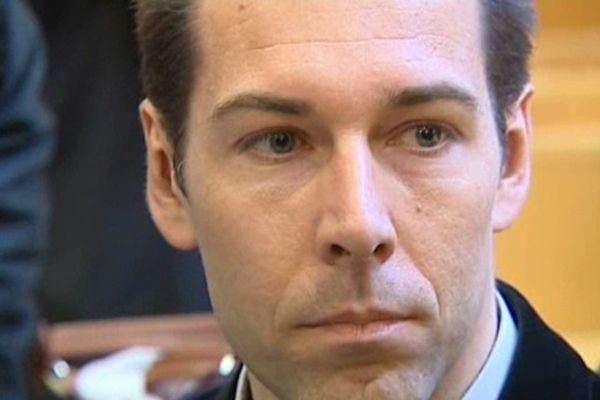Montpellier - Capitaine Hugues Bonningues chef des groupements de commando parachutistes du 3e RPIMa sur le banc des accusés - 10 avril 2013.