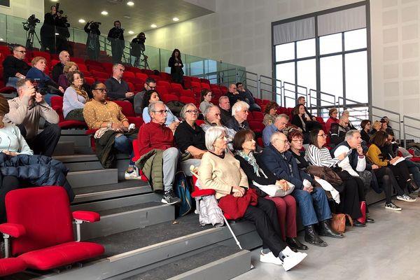 04/20/2020. Coronavirus, réunion d'information à Aix-en-Provence (Bouches-du-Rhône) des autorités sanitaires.