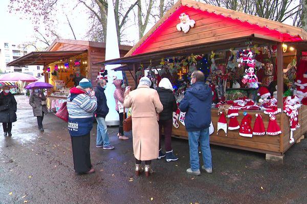 Le marché de Noël de Nevers est l'un des rares maintenus en Bourgogne cette année