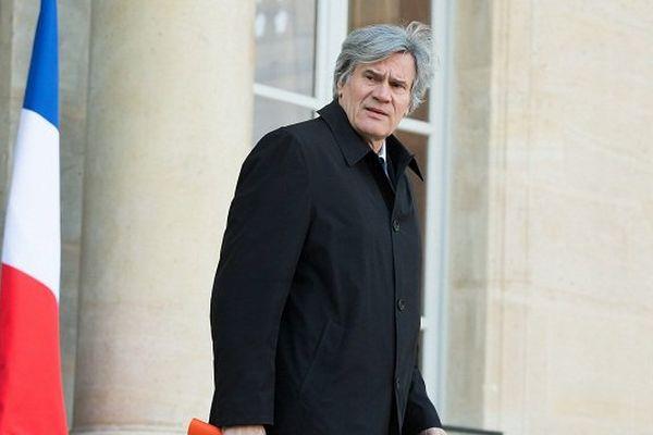 Stéphane Le Foll, ministre de l'Agriculture en visite dans le Loiret
