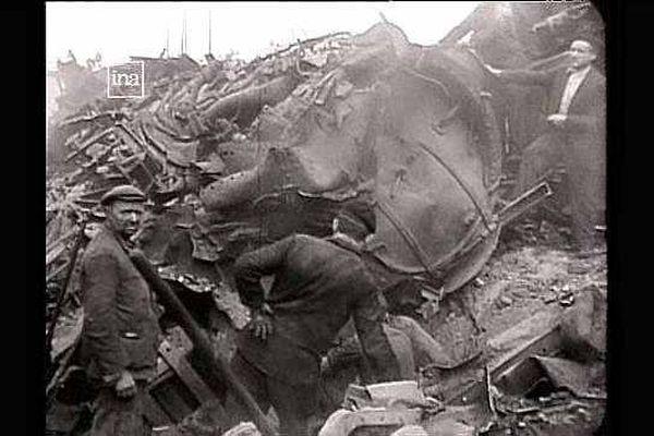 Une opération de déraillage menée par la Résistance pendant la Seconde Guerre mondiale