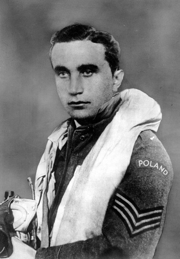 Josef Frantisek, pilote tchèque du 303 Squadron polonais pendant la Bataille d'Angleterre en 1940.