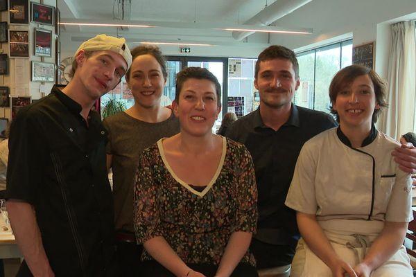 L'équipe du Pixel, soutenue par les nombreux bénévoles de l'association La Furieuse.