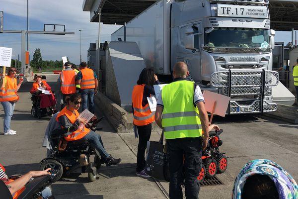 Opération péage gratuit aux portes de Toulouse
