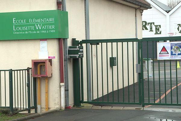 L'école élémentaire Louisette Wattier est fermée depuis le 18 janvier.