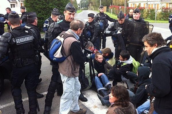 Expropriations à Notre-Dame-des-Landes le 30/12/2012