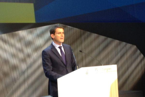 Manuel Valls en clôture du 75e Congrès de l'Union sociale de l'habitat (USH) - 25/09/14