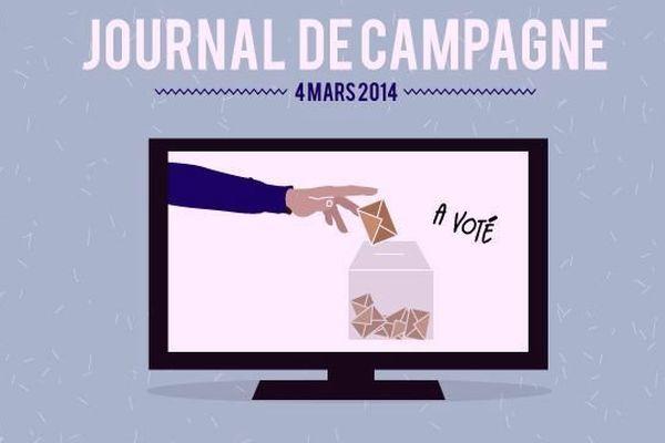A l'occasion des élections municipales 2014, France 3 Bourgogne vous propose un « journal de campagne » diffusé dans le JT de 19h, du lundi au vendredi.