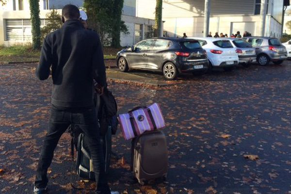 54 personnes expulsées du squat de Doulon à Nantes le 22 novembre 2016