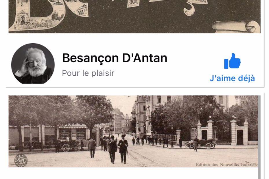 PHOTOS : Besançon fait renaître son passé sur les réseaux sociaux