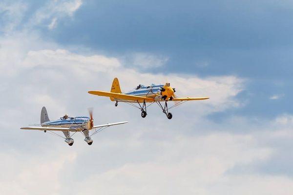 Le meeting aérien à Saint-Yan, en Saône-et-Loire, est un grand rassemblement d'avions de loisirs et sportifs de France et d'Europe.