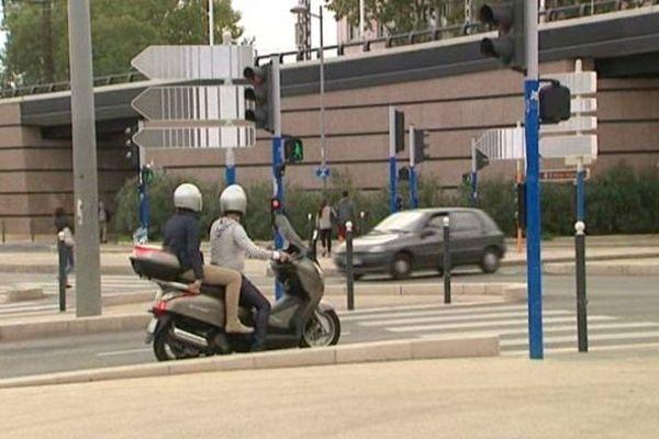 Cet après-midi, la ville de Montpellier s'est animée à l'annonce de la levée de l'alerte rouge.