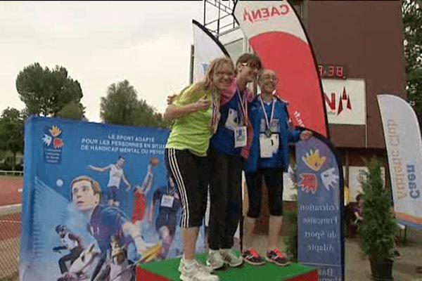Les championnats de France d'athlétisme adapté se sont déroulés ce weekend au stade Helitas de Caen