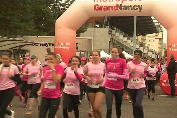 En 2017, 6000 femmes ont pris le départ de la course de 5km à Tomblaine
