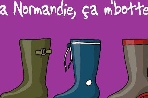 """La Normandie réunie ça botte """"Heula"""", la société qui nous vend notre région."""