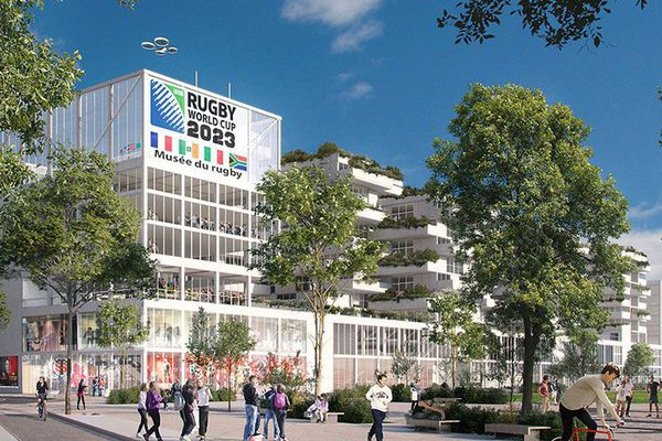 """Le futur projet """"Drop"""" au Stade Toulousain"""