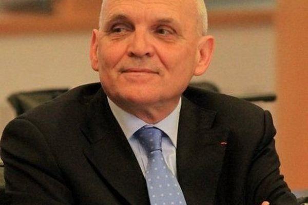Claude Jeannerot, président socialiste du conseil général du Doubs