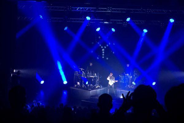Le groupe Yelle, originaire de Saint-Brieuc, avait carte blanche ce samedi 4 septembre pour les concerts du festival Art-Rock