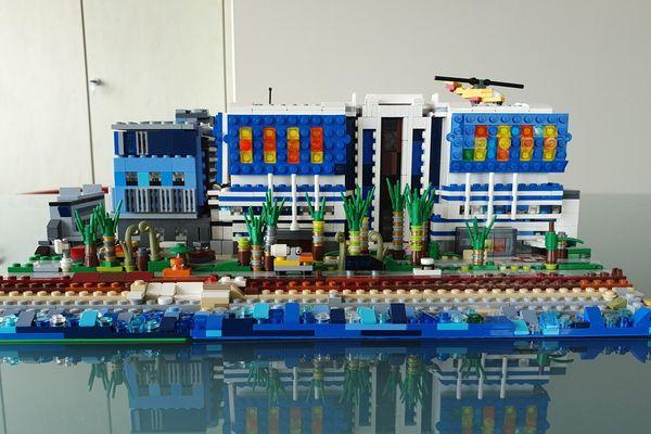 La fondation Lenval... en briques de Lego.