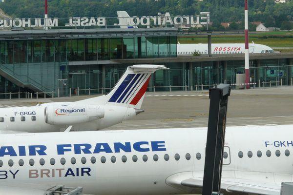 A l'avion, beaucoup préférèrent désormais le TGV pour joindre l'Alsace et Paris.