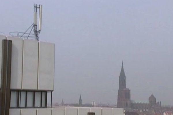 410 antennes seraient installées à Strasbourg.