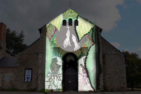 Un spectacle poétique retraçant l'histoire de l'Abbaye en vidéo-mapping