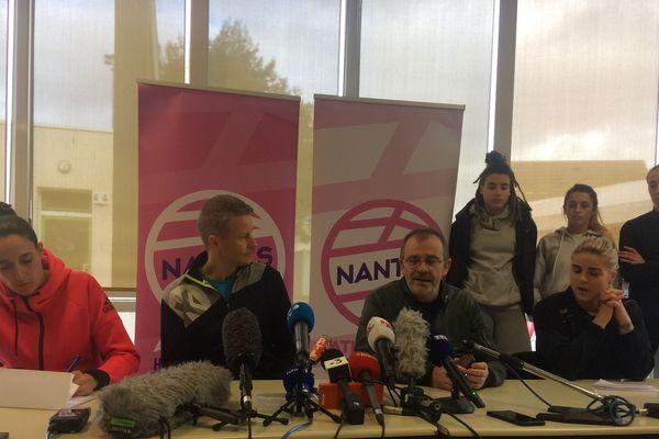 Le club a donné une conférence de presse ce vendredi après-midi.
