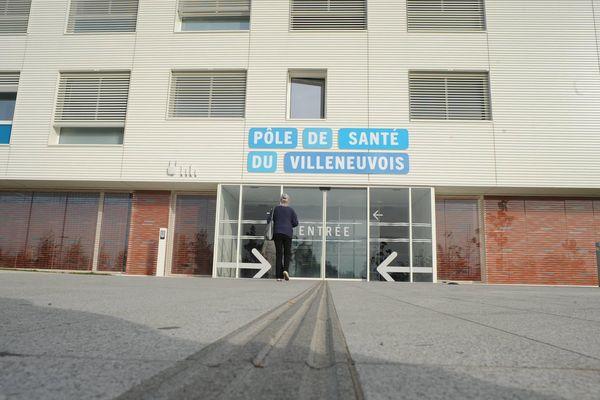 Le pôle santé de Villeneuve - sur-Lot en Lot-et-Garonne.