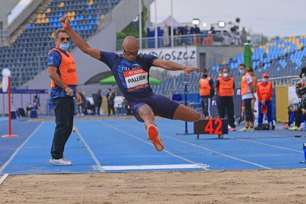 Ronan Pallier remporte la médaille d'or au championnat d'Europe handisport en Pologne, le 1er juin 2021
