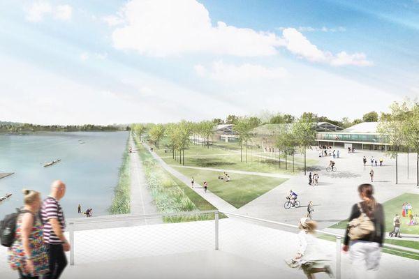 La base nautique de Vaires-sur-Marne recevra les compétitions locales d'aviron et de canoë-kayak d'ici à la fin 2015