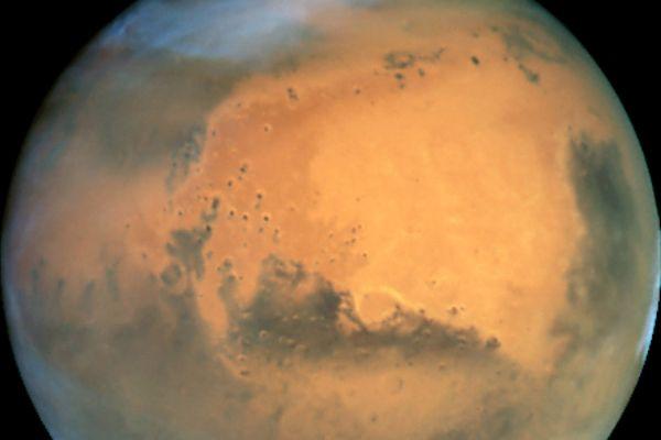 La planète Mars vue par le satellite Hubble