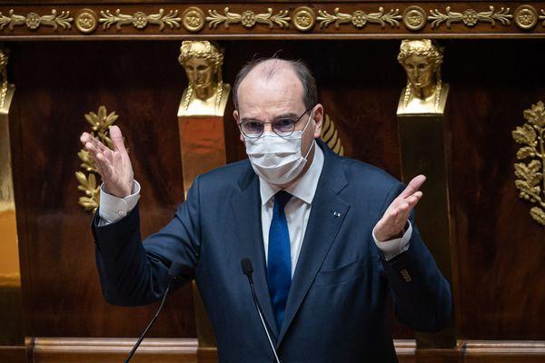 Déclaration du Premier Ministre Jean Castex, à l'assemblée Nationale 01 avril 2021.