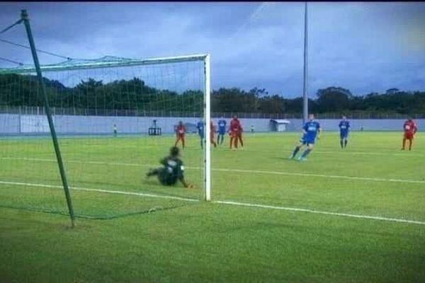 US Avranches contre US Matoury (Guyane), le 6 décembre 2014