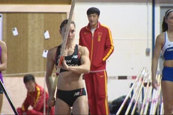 Championne de Belgique de saut à la perche