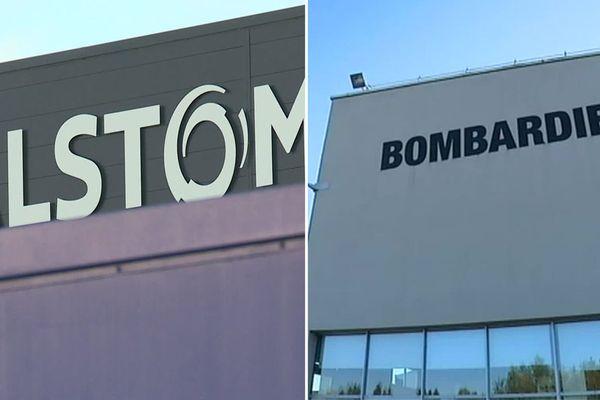 Alstom et Bombardier : les deux usines sont à quelques kilomètres l'une de l'autre dans le Nord
