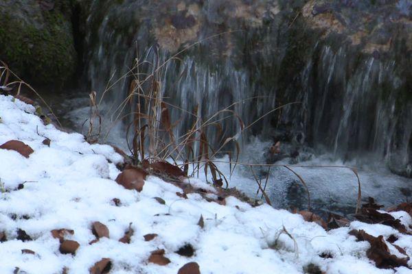 Des chutes de neige sont attendues mardi en Bourgogne (image d'illustration)