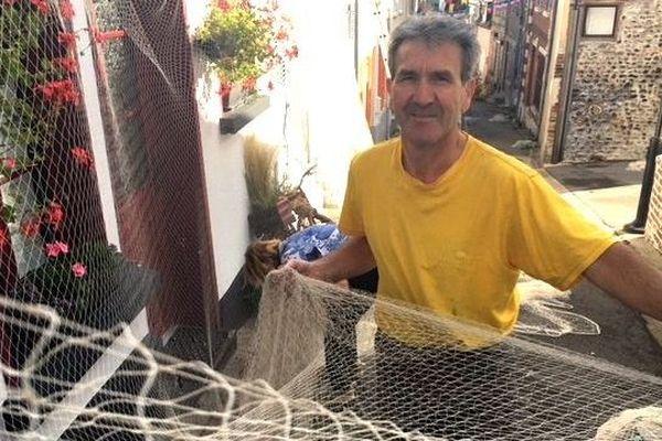 Patrick Vue, organisateur de la fête de la mer à Saint-Valery-sur-Somme - Août 2018