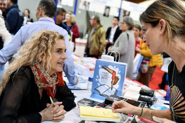 Delphine de Vigan, présidente de la foire du livre de Brive 2018