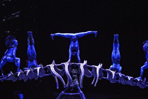 Le Cirque du Soleil à Lyon le 20 février 2018 avec son spectacle Toruk.