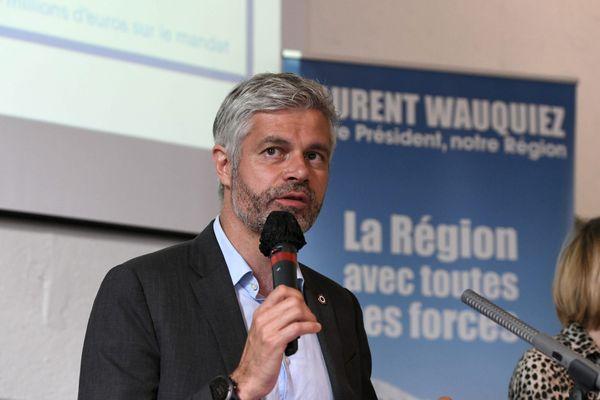 Laurent Wauquiez a présenté l'intégralité de son programme. Priorité régionale à la sécurité, puis plans d'actions en matière d'économie, de santé et d'environnement.. Ainsi que quelques domaines d'interventions dans la vie quotidienne