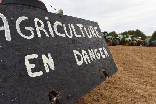 le malaise du monde agricole s'exprime dans la rue. Image d'illustration.